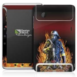 Design Skins for HTC Flyer   Firefighter Design Folie