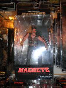 2011 NECA Machete Danny Trejo Action Figure MOC Horror