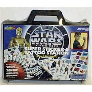 Star Wars Tattoo and Sticker Station Case 180 pcs