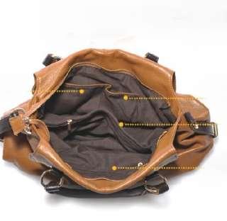 New Genuine Leather Real Leather Tote Shoulder Bag Purse Hobo Handbag