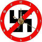 brand new anti nazi symbol flag cd clock returns accepted