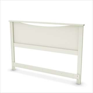 Full / Queen Panel Pure White Finish Headboard 066311045710