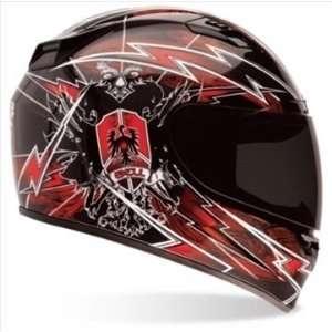 Vortex Full Face Street Helmet (Siege Red   XS)