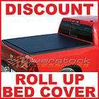 ROLL UP Tonneau Cover 2007 2012 Chevy Silverado/GMC Sierra 6.5ft Short