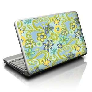 Hippie Flowers Blue Design Skin Decal Sticker for