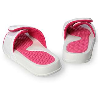 JORDAN HYDRO 2 (GS) YOUTH SIZE 7 White Vivid Pink Athletic Sandals