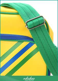 Adidas WORLD CUP S Messenger Shoulder Bag Brazil Yellow