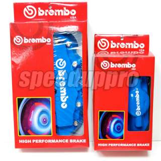 BLUE Brembo Look Brake Caliper Cover Set Front/Rear