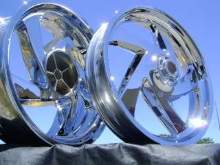 HONDA GOLDWING GL 1800 GL1800 GOLD WING CHROME WHEELS
