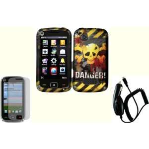 Danger Design Hard Case Cover+LCD Screen Protector+Car Charger for