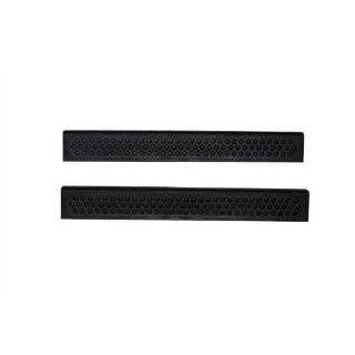 Auto Ventshade 91236 Black Door Sill Protector Automotive