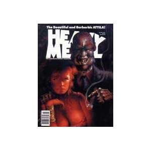 Heavy Metal 1991  March Heavy Metal Books