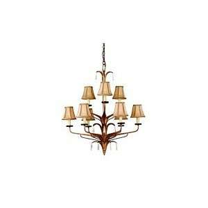 Corbett Lighting Inc. Captiva 9 lt Chandelier model number