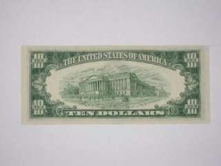 Star Note, 5   1950 Ten Dollar Notes, and 5   1950A Ten Dollar Notes