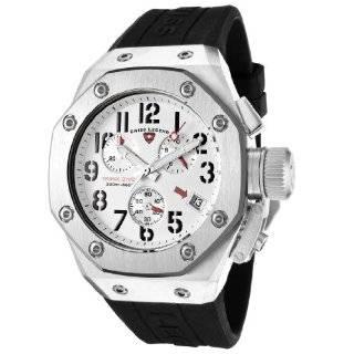 Swiss Legend Mens 10541 02 Trimix Diver Collection Chronograph Black