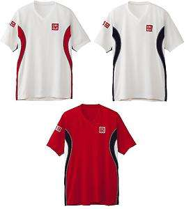 Nishikori Model V neck dryEX shirt (Japan Limited) for Men from Japan