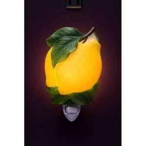 Yellow Lemon Fruit Kitchen Decorative Nightlight Night Light New