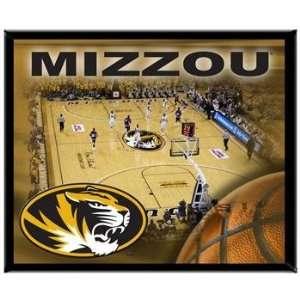 Missouri Tigers MIZZOU MU NCAA Basketball 8 X 10 Framed