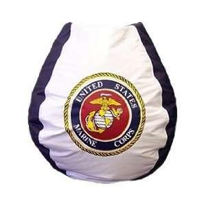 U.S. Marines Vinyl Bean Bag Chair
