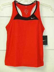 Nike sz XS Airborne Womens Long Running Sport Top RED