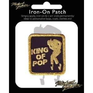 Michael Jackson patch thermocollant King of Pop Toys & Games