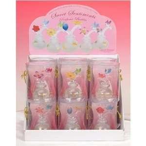 Assorted Style Design Flower Perfume Fragrance Glass Bottle Decor