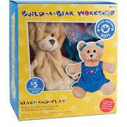 Build A Bear Kit, Curly Teddy Bear Build A Bear Kit, Curly Teddy Bear