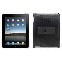 Premium iPad 2 Slim Fit Carbon Fiber Pattern Leather Case
