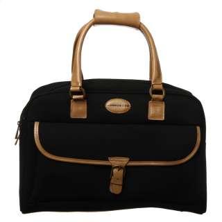 London Fog Cambridge 19 inch Carry on Weekender Duffel Bag  Overstock