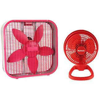 Sunbeam Box Fan and Table Fan Bundle Heating, Cooling, & Air Quality