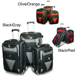 American Flyer Matrix 3 piece Luggage Set