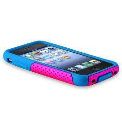 / Hot Pink Mesh Hybrid Case for Apple iPhone 3G/ 3GS