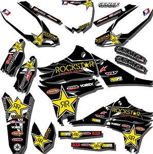 2010 2011 2012 YZ 250F GRAPHICS KIT YZ250F YAMAHA DECALS DECO STICKERS