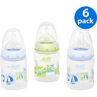NUK / Gerber   First Choice Nature 5 oz Bottles 6 Pack, Boy