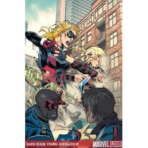 Dark Reign Young Avengers #5 Mark Brooks Books