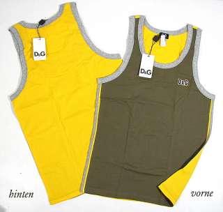 DOLCE & GABBANA° tank top muscle shirt vest D&G NWT