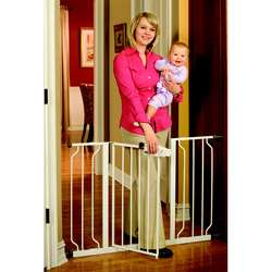 Easy Step Extra wide Metal Walk thru Gate  Overstock