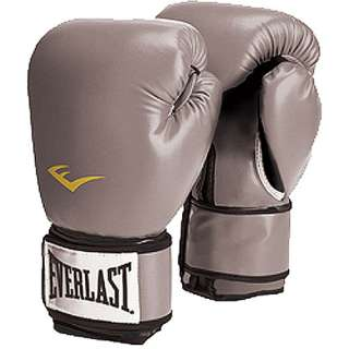 Everlast Pro Style Boxing Gloves, Grey Exercise