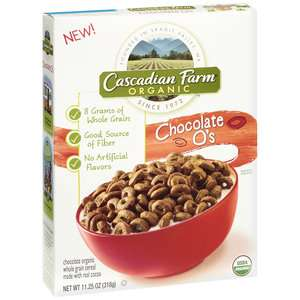 Chocolate Os Organic Whole Grain Cereal, 11.25 oz: Breakfast & Cereal