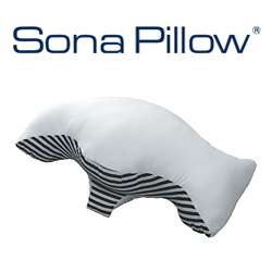 Sona Stop Snoring Pillow with Bonus Pillowcase