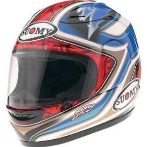 Suomy Spec 1R Helmet , Size XL, Style Bautista 08 KTSPBA