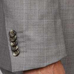 Ben Sherman Mens Grey Wool Suit