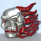 Fishbone Skeleton Fish Metal Belt Buckle