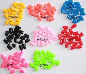 DOG CAT Nail Claw Control Caps 20pcs adhesive & glue protect furniture