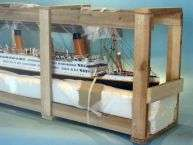 Lusitania 40 with LED LIGHTS Model Cruise Ship