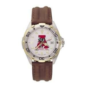 Alabama Crimson Tide LogoArt Allstar (Bama Logo) Leather Mens NCAA