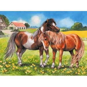 Ponies Jigsaw Puzzle 35pc Toys & Games