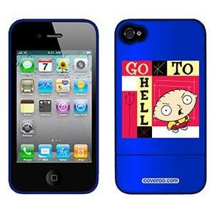 Stewie Griffin on AT&T iPhone 4 Case by Coveroo