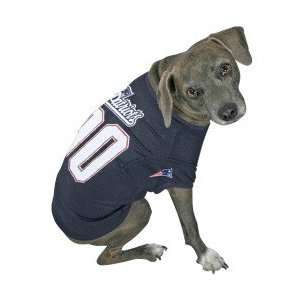New England Patriots Navy Blue Dog Jersey:  Sports
