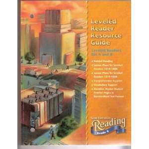 Scott Foresman Reading Grade 6 Leveled Reader Resource Guide; Leveled